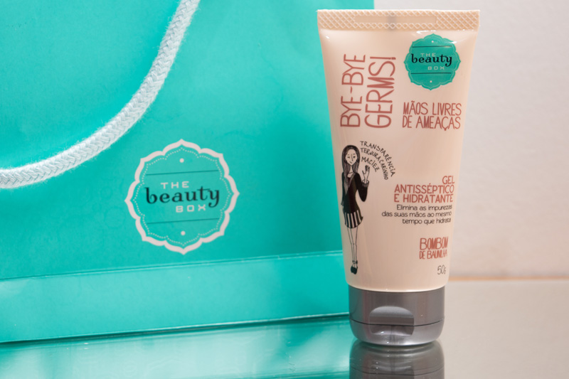 The Beauty Box - Gel Antisséptico e Hidratante - Bombom de Baunilha by Cantinho da Tarsi