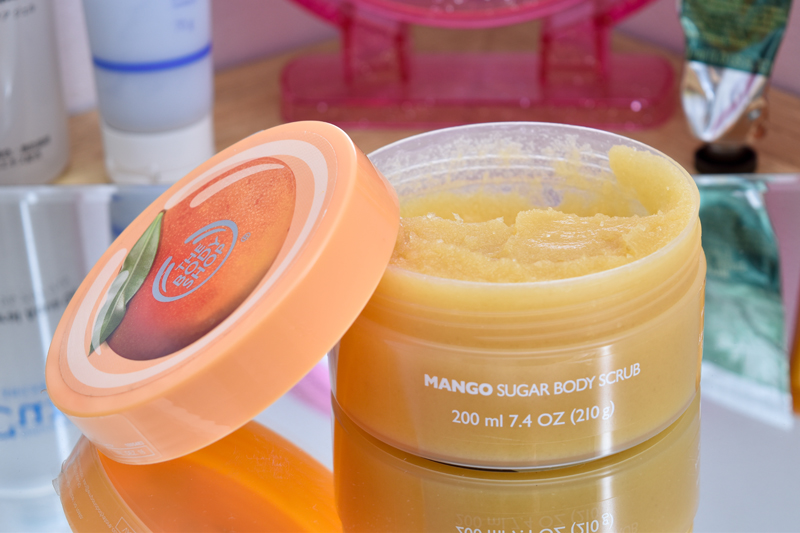 The Body Shop - Esfoliante Corporal de Manga by Cantinho da Tarsi