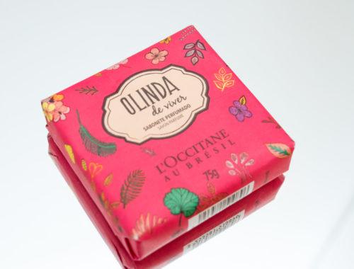 Resenha sabonete perfumado Olinda de Viver L'occitane Au Brésil
